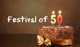 50 Things for the Festival of 50!