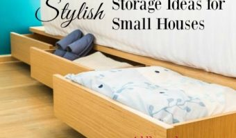 Stylish Storage Ideas for Small Houses