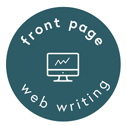 Front Page Web Writing Copywriter Brisbane